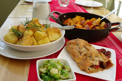 Christmas Cookery - vegetarian vegan course