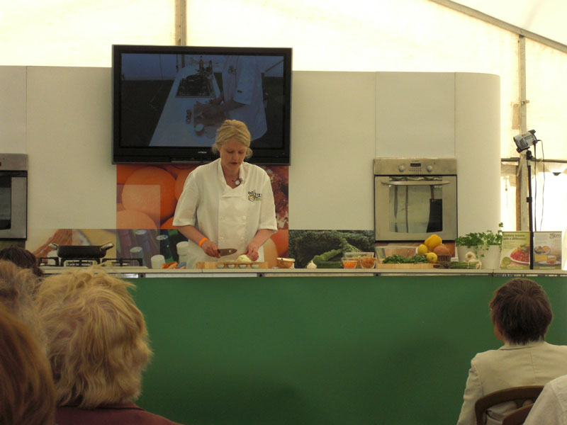 vegetarian vegan cookery demonstrations
