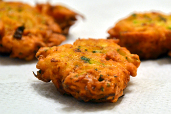 carrot-pakora - vegetarian vegan recipe
