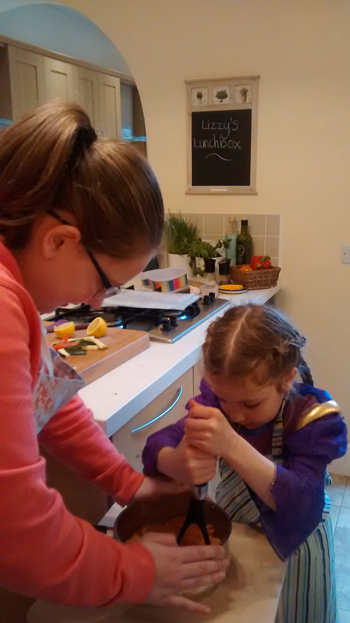childrens vegetarian cookery school midlands
