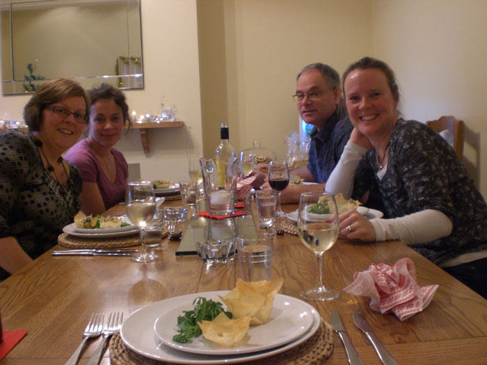 fun bespoke vegetarian cookery party - special occasion malvern