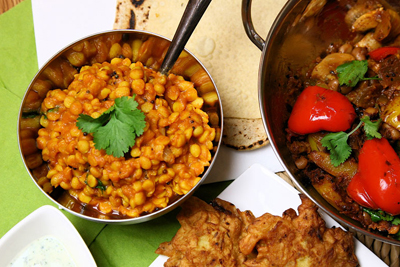 Indian Cookery - vegetarian vegan course