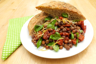 rustic-bean-salad-vegan - vegetarian vegan recipe