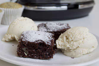 vegan-chocolate-brownies - vegetarian vegan recipe