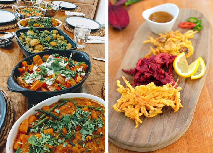 vegetarian vegan cookery class indian