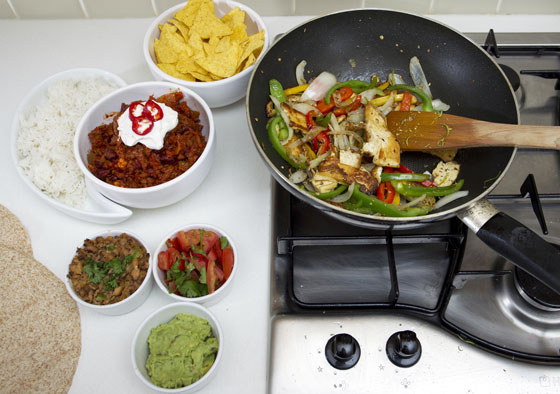 vegetarian cookery school midlands mexican dish